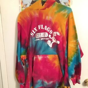 Six flags sweater